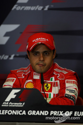 FIA press conference: pole winner Felipe Massa
