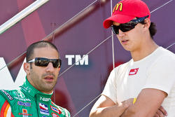 Tony Kanaan and Graham Rahal