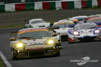 #26 Yunker Power Taisan Porsche: Nobuteru Taniguchi, Shinichi Yamaji, Keita Sawa