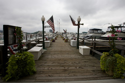 The marina at the Detroit Yacht Club