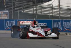 Mario Moraes in trouble with suspension failure