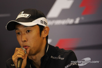 FIA press conference: Kazuki Nakajima, Williams F1 Team