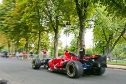 Sébastien Bourdais in the Scuderia Toro Rosso STR03