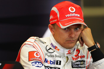 Post-qualifying press conference: third place Heikki Kovalainen