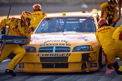 Pit stop for Ryan Newman