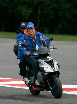 Bruno Senna and Karun Chandhok
