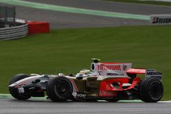 Giancarlo Fisichella, Force India F1 Team, VJM-01 crash damage