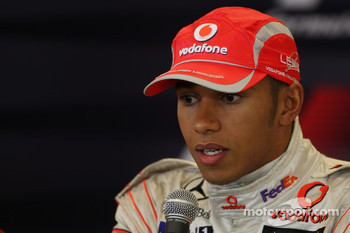 Post-race press conference: race winner Lewis Hamilton