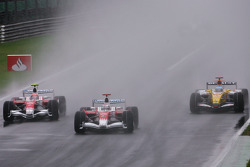 Timo Glock, Toyota F1 Team, Jarno Trulli, Toyota F1 Team, Fernando Alonso, Renault F1 Team