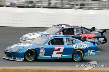 Kurt Busch and Sam Hornish Jr.