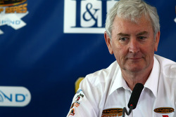 Press conference, V8 Supercars CEO: Retiring V8 Supercars CEO Wanye Cattach