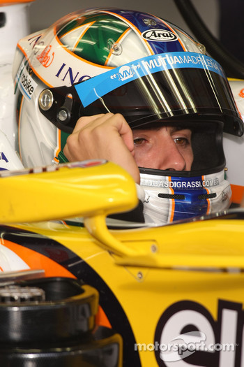 Lucas di Grassi, Test Driver, Renault F1 Team