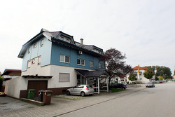 Sebastian Vettel's home town visit in Heppenheim, Germany: family house