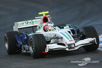 Alexander Wurz, Test Driver, Honda Racing F1 Team, KERS