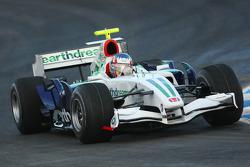 Alexander Wurz, Test Driver, Honda Racing F1 Team, KERS
