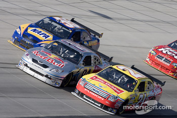 A.J. Allmendinger, Marcos Ambrose and Michael Waltrip