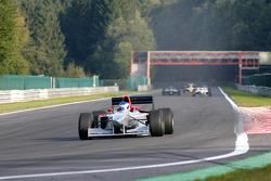 1st lap at Les Combes: Klaas Zwart (NL) Ascari, F1 Benetton B197 Judd 4.0 V10