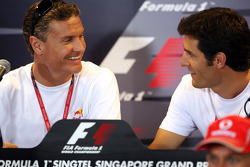 FIA Thursday press conference: David Coulthard and Mark Webber