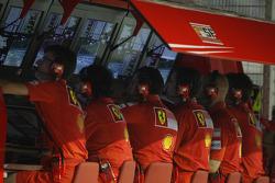 Scuderia Ferrari, Pitwall