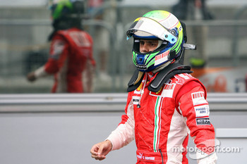 Felipe Massa, Scuderia Ferrari after the race