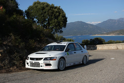 Pierre Natali and Gilbert François Dini, Mitsubishi Lancer Evolution IX