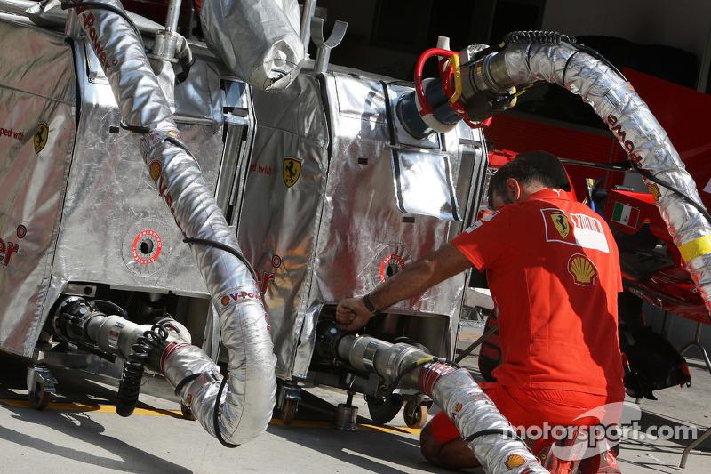 Ferrari, Tankanlage