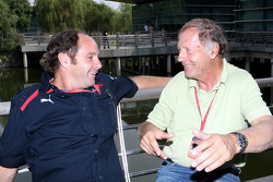 Gerhard Berger and Heinz Prueller