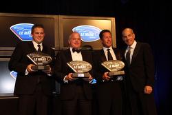 2nd place team champions - Intersport Racing, Highcroft Racing, Tafel Racing