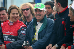 Father of race winner and new DTM champion 2008 Timo Scheider