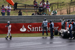 David Coulthard, Red Bull Racing crash in the first corner