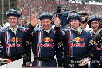 Red Bull Racing team members
