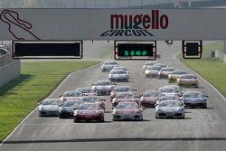 Saturday race: start