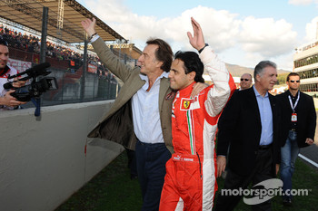Luca di Montezemolo and Felipe Massa