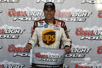Pole winner David Reutimann