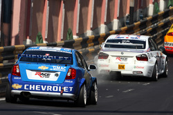 Alain Menu, Chevrolet, Chevrolet Lacetti, Andy Priaulx, BMW Team UK, BMW 320si WTCC