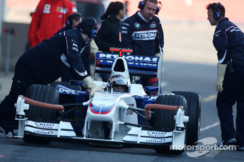 Christian Klien, Test Driver, BMW Sauber F1 Team, interim 2009 car