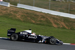 Nico Hulkenberg, Test Driver, WilliamsF1 Team, 2009 interim car
