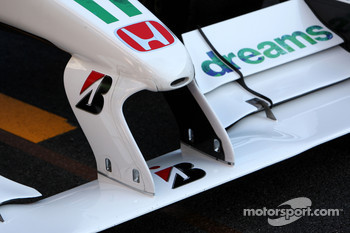 Front wing for Honda Racing F1 Team, Interim 2009 car, detail