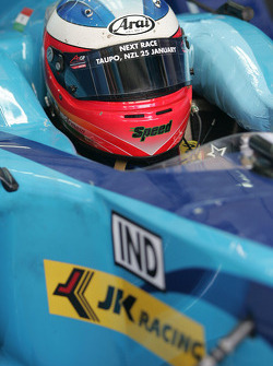 Armaan Ebrahim, driver of A1 Team India