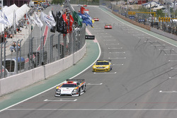 #4 PK Carsport Saleen SR7: Anthony Kumpen, Bert Longin, #6 Phoenix Carsport Racing Corvette C6R: Mike Hezemans, Fabrizio Gollin