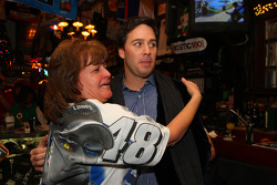 A Jimmie Johnson fan meets her man at Foley's