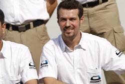Ocean Racing Technology team photoshoot: Tiago Monteiro, team manager