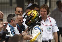 Second place Davide Valsecchi