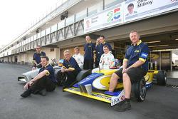 Simon Moss, Motaworld Racing and Ollie Millroy, Motaworld Racing photoshoot