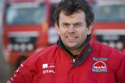 MAN Rally Team: Hans Stacey, driver truck 1