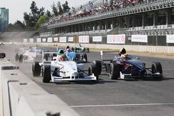 Start: Gabriel Chaves, Euro Junior Team, Facundo Regalia, Josef Kaufmann Racing