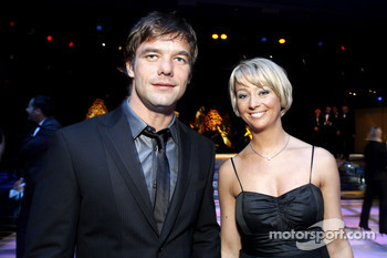 FIA World Rally champion Sébastien Loeb with is wife