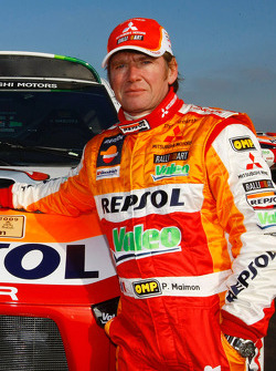 Repsol Mitsubishi Ralliart Team: co-driver Pascal Maimon