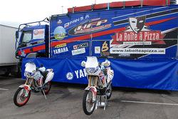 Fret-Motorsport: the Fret-Motorsport Yamaha 450cc of David Frétigné and Olivier Pain