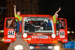 #562 Mercedes Unimog: Thomas Wallenwein and Andre Jockusch